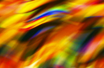 Colors have energy. A computer enhanced image from another assignment becomes more of an art piece rather than reality.