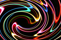 Personal art photography, fun with light, color and movement