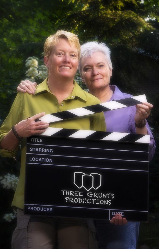 Do you like movies, well these ladies write and produce them. Three Grunts Productions is a well known team who participate regularly in the 48 Hour movie contest.