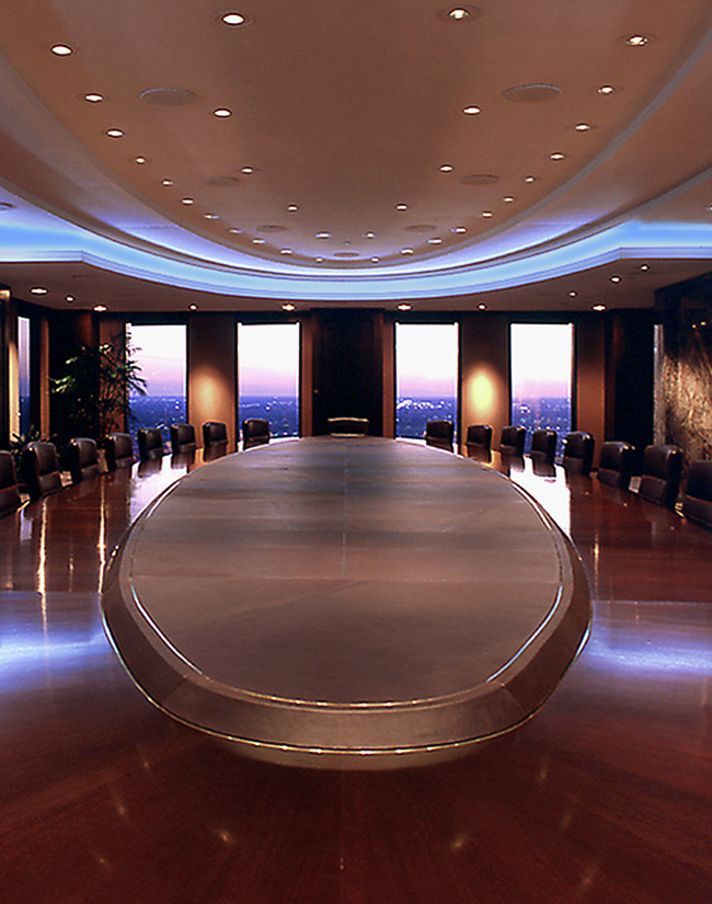 The Huntington Bank boardroom, Columbus, Oh. Image made for an annual report.