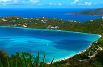 Magens Bay at St. Thomas Virgin Islands