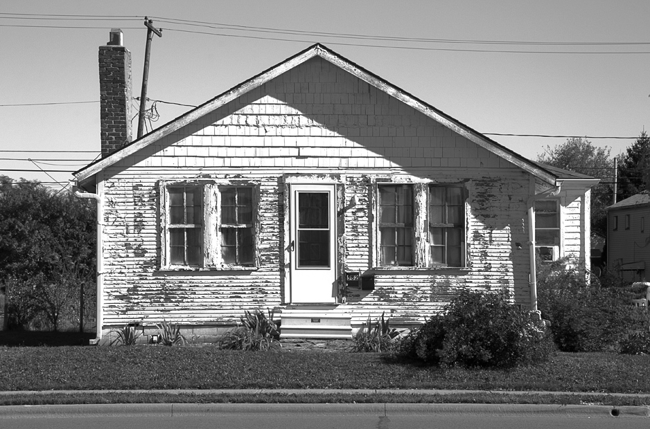 Came Across This House While Out On An Assignment The Peeling Paint A Bright Sunny Day And The