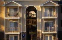 Marketing image for a new apartment complex. Working to make multi family units appear more attractive.