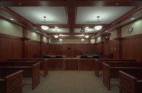 This image is one from a series of the new courthouse for Madison County in Ohio.
