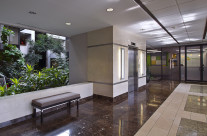 Lobby interior used for investment pro forma package.