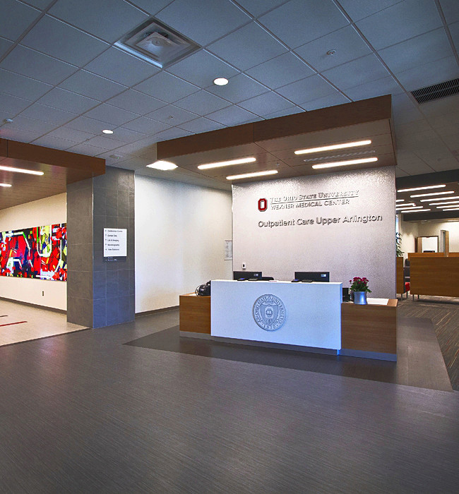The Atrium Wilmington Nc: Entrance Area To The OSU Wexner Out Patient Medical Center