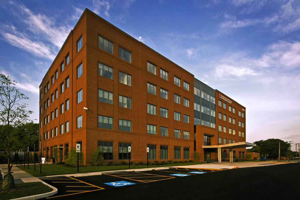 Exterior View Of The New Osu Wexner Outpatient Medical