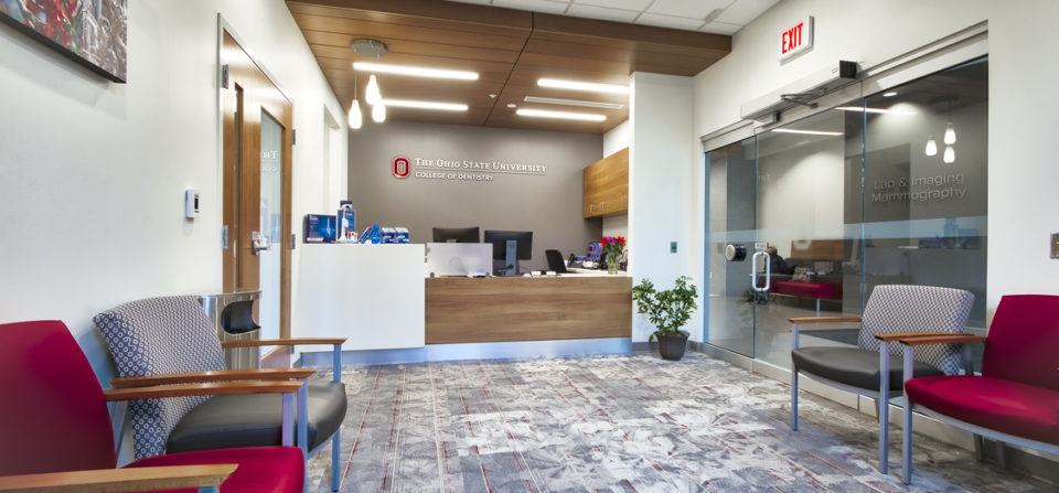 BLT completed the documentation of the dental services in the new OSU Outpatient Medical Center in Upper Arlington, Ohio.