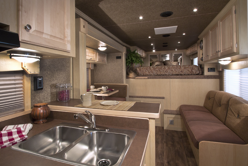 Interior of a long distance travel horse trailer - Home interior horse pictures for sale ...