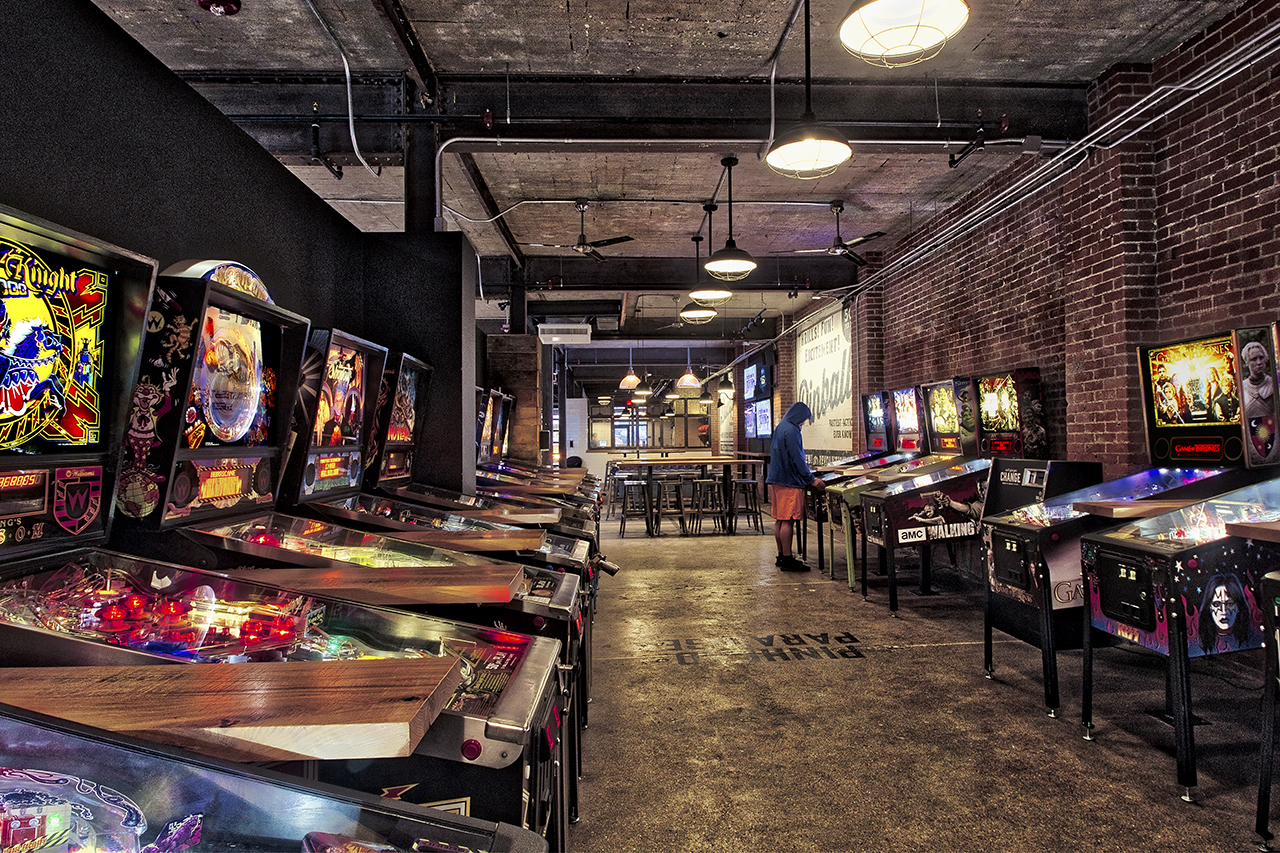 From An Old Car Repair Garage To A Bar With Bowling And